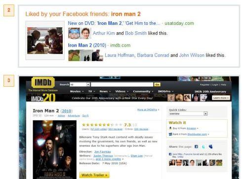 Facebook Bing cooperation